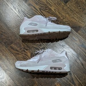 Nike Air Max 90 LX Particle Pink Velvet Size 7.5